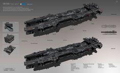 "ArtStation - Concept ""Steel b//ls'', Denis Melnychenko"
