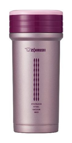 Zojirushi SM-CTE35PB 11-Ounce Stainless Mug with Tea Strainer, Pink by Zojirushi. $26.49. Stainless steel. Removable tea strainer. Non-stick interior. Extra wide opening for ice cubes and easy cleaning. Double wall thermal insulation. Zojirushi began in Japan in 1918 as a manufacturer of hand-blown vacuum bottles. They are still known today for their high quality vacuum insulated products. Their superior thermal insulation will keep your beverage hot or cold for hours. Th...