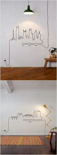 Cords turned into art!!!