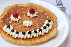 Cute Pancake Face!