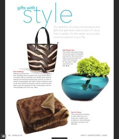 The Kulu Zebra Shopper with mane featured in GazelleSTL's Holiday Gift Guide!