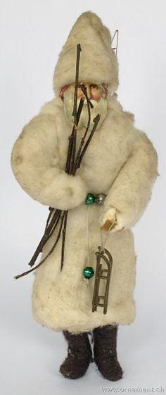 Vintage cotton ornament