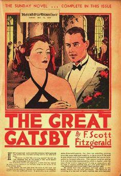 The Great Gatsby The Great Gatsby Fitzgerald, Scott And Zelda Fitzgerald, The Great Gatsby 2013, Sunday Newspaper, Art Deco Illustration, Romance, Album Photo, Vintage Movies, Literature