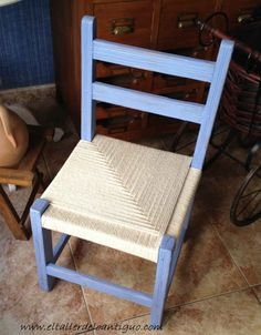 Chairs With Farmhouse Table Referral: 4469360885 Upcycled Furniture, Furniture Projects, Furniture Making, Furniture Design, Diy Hammock, Hammock Chair, Chair Repair, Macrame Chairs, Mexican Furniture