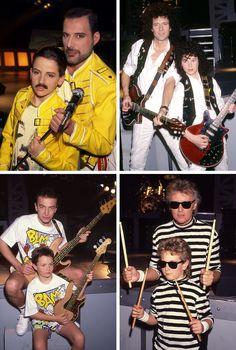 Queen + kids version.