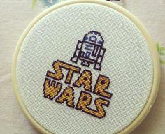 Star wars cross stitch for daniel