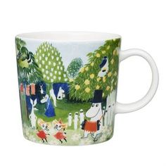"Complete or start up your Moomin collection with the unique Moomin art mug! The Moominvalley Aquarelle mug is a unique Moomin art mug by Arabia, designed in collaboration with Tammerfors Art-museum in Finland. In 1986, the Moomin-author Tove Jansson donated a great deal of her art collection to the museum. From those, the museum chose one motif to use for the mug in order to celebrate 100 years of Finnish independence in 2017.The stunning aquarelle motif was taken from the book ""Finn Family…"