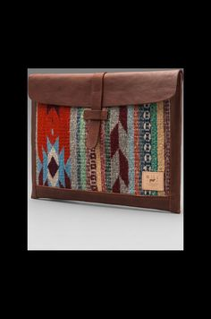 WILL Leather Goods Oaxacan Laptop Sleeve en Cognac