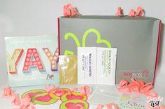 October 2014 BDJ Box: Skin Savers | Unboxing & First Impressions - Jean's List October 2014, Subscription Boxes, Congratulations, Frame, Blog, Picture Frame, Blogging, Frames, Budget Binder
