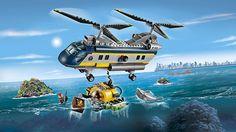 helicóptero de exploración submarina