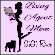 Being Agent Mom button
