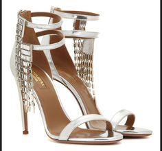 Des chaussures de fetes pour le réveillon - Aquazzura, 980 euros
