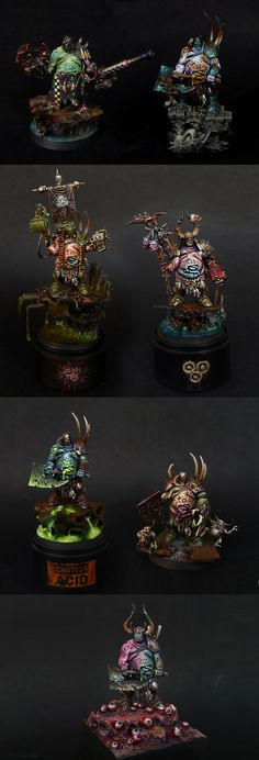 Chaos Nurgle Lords Conversions