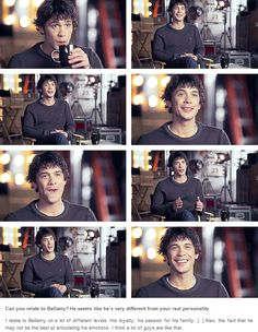 Bob Morley being a cutiepie || The 100 cast || Bellamy Blake