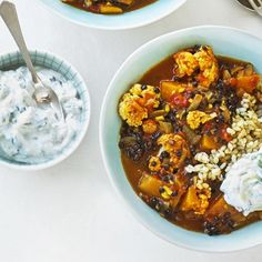 Black Lentil and Coconut Curry - The Happy Foodie