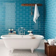 Gorgeous Teal tiles