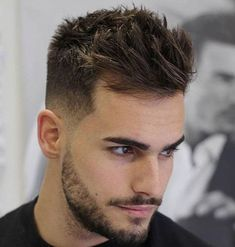 Fashionable Mens Haircuts. : New Men's Hairstyles #MensFashionHairstyles