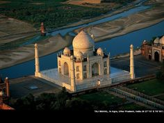 """The Taj Mahal of India. :) It is entirely made of white marble and considered """"the jewel of Muslim art in India."""""""
