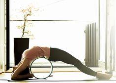 Beneficios de la rueda de yoga