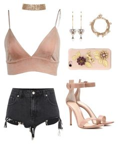 """""""Untitled #322"""" by gr20gk on Polyvore featuring River Island, Gianvito Rossi, Alexander McQueen and Dolce&Gabbana"""