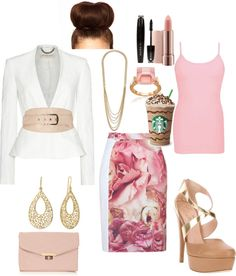 """Ready for Work"" by breezypooh1999 ❤ liked on Polyvore"
