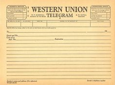 Useful 1920s-1930s typefaces, newspaper resources, and telegram templates - Alternate History Discussion Board