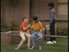 """When there's a flashback to when Joey and Danny do a """"soul shake"""" to prove that they're soul brothers, and a black kid watches in disgrace. 
