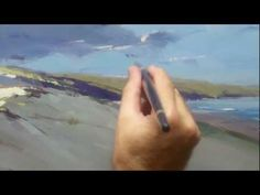 how to watercolor tutorial A Seascape Tutorial with Colley Whisson