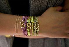 Un bracelet en corde