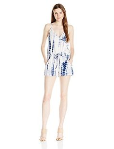 French Connection Women's Holiday Wave Romper - http://darrenblogs.com/2016/06/french-connection-womens-holiday-wave-romper/