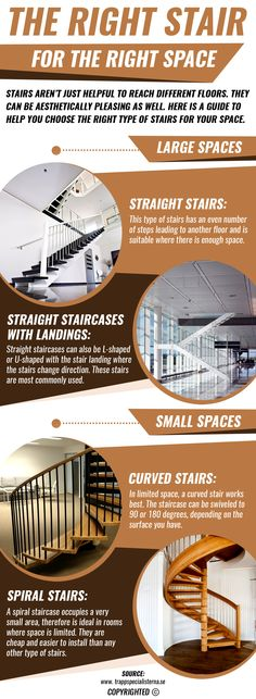Depending on whether you have more or less space available, you could select and install straight, curved or spiral staircases. These could be customized to be easily accessible as well as aesthetically pleasing.