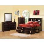 $2138.34  Coaster Furniture - Phoenix Storage Bed 5 Piece Set - 200409set