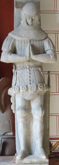 Switzerland La Sarraz - Chapelle St Antoine Francois I de La Sarra 1363 tomb 1390 24.JPG (1145×3185)