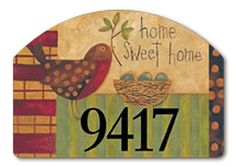"""Mother Robin Garden Sign by Magnet Works, Ltd.. $15.95. Made in the USA. 14"""" x 10"""". Screen printed. Full Surface magnet backing. MAIL76759 Features: -Screen printed for year round durability.-Strong-gripping 24 gauge magnetic vinyl.-Made in the USA. Dimensions: -Dimensions: 13'' H x 13.75'' W x 0.1'' D."""