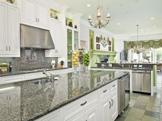 I like how light and bright this #Kitchen is.