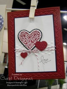 StampWithKriss.com » Blog Archive » More Valentines from Leadership Conference