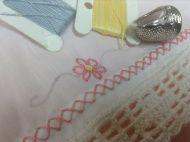 Buzy Day in August 2013 Days In August, August 2013, Embroidery, Needlework, Drawn Thread, Stitch, Stitches