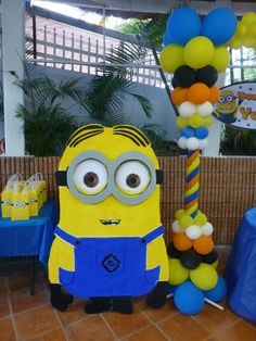 Despicable Me Decoration-from cardboard to stand up