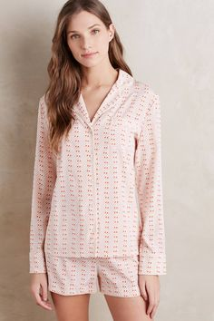90c489d96c89 Stella McCartney Poppy Silk Sleep Set - anthropologie.com Pajamas Women