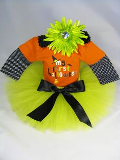 Hey, I found this really awesome Etsy listing at https://www.etsy.com/listing/152598197/babys-first-halloween-outfit-my-first