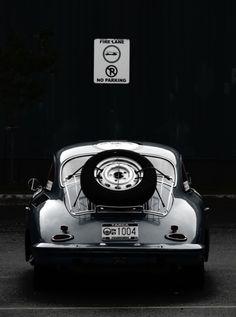Porsche 356   More here: http://mylusciouslife.com/stylish-home-luxury-garage-design/