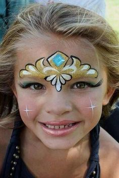 Make up carnival, carnival, carnival with children / with children ideas for . - Make up carnival, carnival, carnival with children / with children Ideas for applying make-up for c - Kids Face Painting Easy, Disney Face Painting, Princess Face Painting, Girl Face Painting, Face Painting Designs, Body Painting, Halloween Face Paint Designs, Halloween Makeup For Kids, Kids Makeup