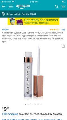Apple Service, Sensitive Eyes, Eyelash Glue, False Eyelashes, Latex Free, Eyelash Extensions, Adhesive, Fake Lashes, Lash Extensions