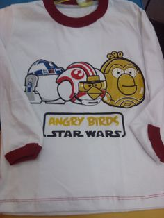 Remera Angry Birds Star Wars
