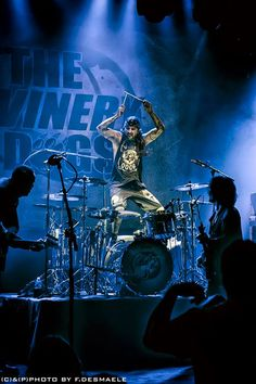 Mike Portnoy with The Winery Dogs, 2014!!!