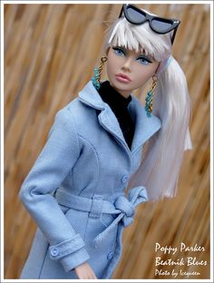 Poppy Parker Beatnik Blues by Icequeen (on holiday), via Flickr
