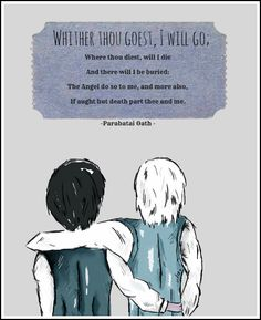 Will and Jem. Excuse me while I go sob my eyes out for the rest of the night.