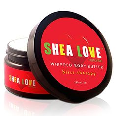 SHEA LOVE Naturals The Best Organic Body Butter 8 Oz  Organic Shea Butter Organic Coconut Oil Organic Aloe Vera Gel Organic Jojoba Oil AntiAging Essential Oils  Give Your Skin Some Love ** Learn more by visiting the affiliate link Amazon.com on image.