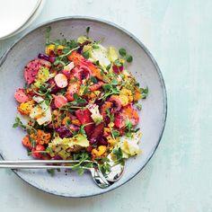 Vegetable Rainbow Salad   Food & Wine
