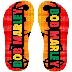 Estampa para chinelo Bob Marley 000241 - Customize Transfer